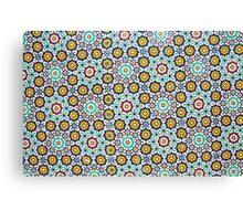 Decorative tiles on Nuzha mosque, Jaffa, Israel  Canvas Print