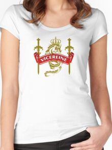 The Vicereine Coat-of-Arms Women's Fitted Scoop T-Shirt