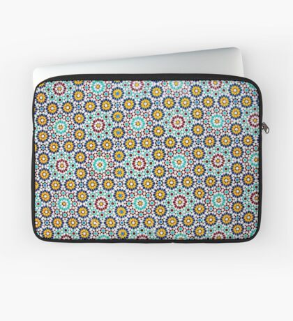 Decorative tiles on Nuzha mosque, Jaffa, Israel  Laptop Sleeve