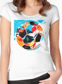 Life Ball Women's Fitted Scoop T-Shirt