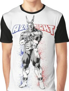 All Might - My Hero Academia Graphic T-Shirt