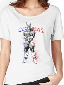 All Might - My Hero Academia Women's Relaxed Fit T-Shirt