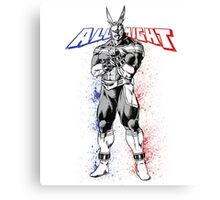 All Might - My Hero Academia Canvas Print