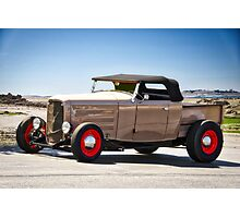 1932 Ford 'Original and Rare' Roadster Pickup  Photographic Print