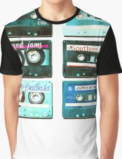 OLD CASSETTE TAPES Graphic T-Shirt