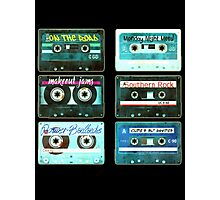 OLD CASSETTE TAPES Photographic Print