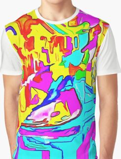 Abstract X2-03 Graphic T-Shirt