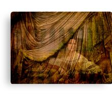 The Woman Behind the Curtain Canvas Print