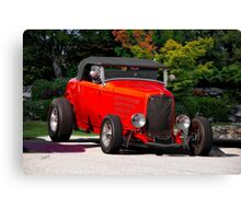 1932 Ford 'Ragtop' Roadster Canvas Print