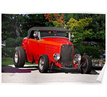 1932 Ford 'Ragtop' Roadster Poster