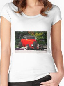 1932 Ford 'Ragtop' Roadster Women's Fitted Scoop T-Shirt