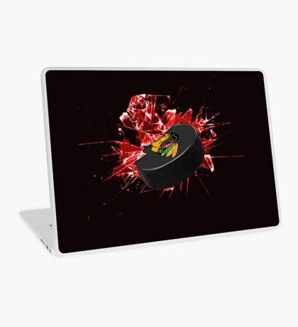 Blackhawks Puck Laptop Skin