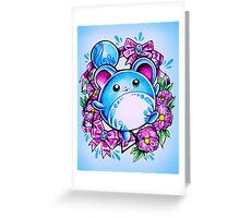 Marill Greeting Card