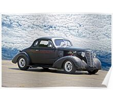 1938 Chevrolet Master Coupe Poster