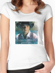 Kenny Chesney Albums 2 lambangnegara Women's Fitted Scoop T-Shirt