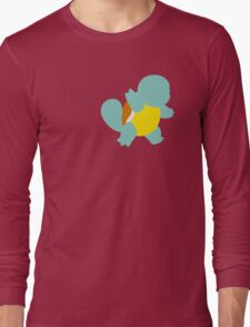Tiny Turtle Pokemon - Squirtle Long Sleeve T-Shirt