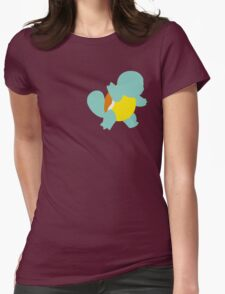 Tiny Turtle Pokemon - Squirtle Womens Fitted T-Shirt