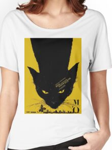 Vintage poster - Black Cat Women's Relaxed Fit T-Shirt
