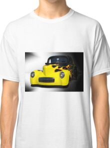 1941 Willys Coupe in Flames Classic T-Shirt