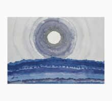 Rim of the Moon original painting One Piece - Long Sleeve