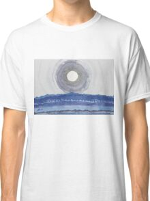 Rim of the Moon original painting Classic T-Shirt