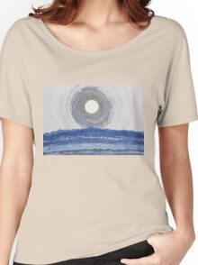 Rim of the Moon original painting Women's Relaxed Fit T-Shirt