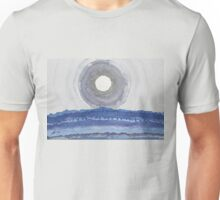 Rim of the Moon original painting Unisex T-Shirt