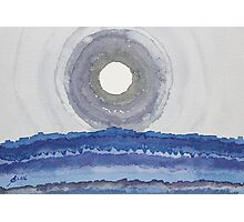 Rim of the Moon original painting Photographic Print