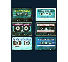 OLD CASSETTE MIX TAPES Photographic Print