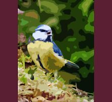 "Birds story, "" fawn paint Picasso ! "" 18 (c) (h) the Blue Tit - Olao-Olavia by Okaio Créations  Unisex T-Shirt"