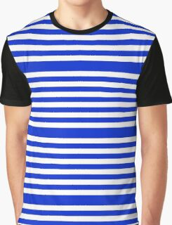 Purple Stripes Pattern Graphic T-Shirt