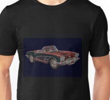 1960's Chevrolet Corvette Convertable Unisex T-Shirt