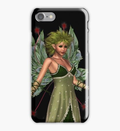 The Fae and a little bird iPhone Case/Skin