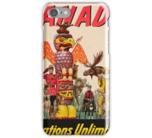 Vintage poster - Canada iPhone Case/Skin