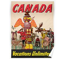 Vintage poster - Canada Poster