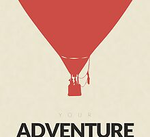 Your Adventure Awaits by trmno