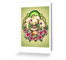 Whimsicott Greeting Card