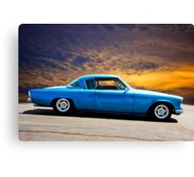 1953 Studebaker 'Blue Streak' Commander Canvas Print