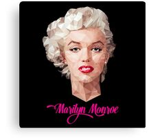 Marilyn Monroe Polyart Canvas Print