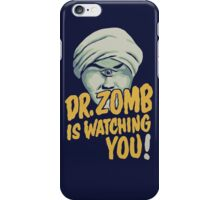 Dr. Zomb iPhone Case/Skin