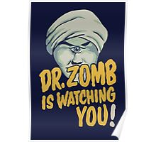 Dr. Zomb Poster