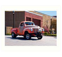1948 Studebaker 'Gasser' Pickup II Art Print