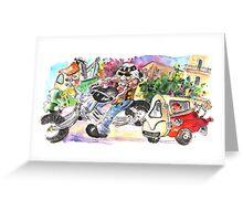 Sicilian Traffic 03 Greeting Card