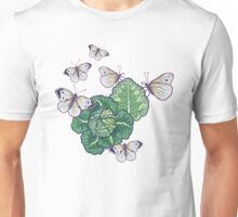 butterflies in the garden Unisex T-Shirt