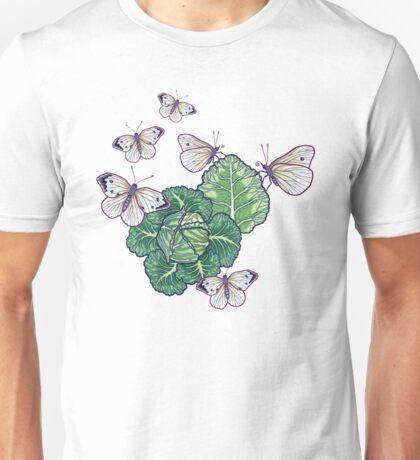 butterflies in the garden Unisex T-Shirt