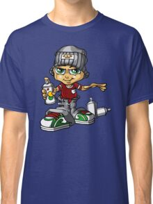 Boy And Spray Classic T-Shirt