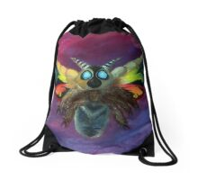 Mothra Drawstring Bag