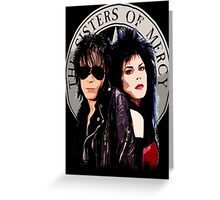 The Sisters of Mercy Greeting Card