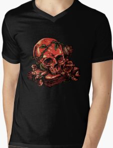 dark history Mens V-Neck T-Shirt