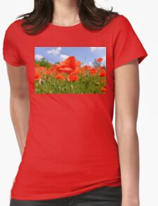 redrose Womens Fitted T-Shirt